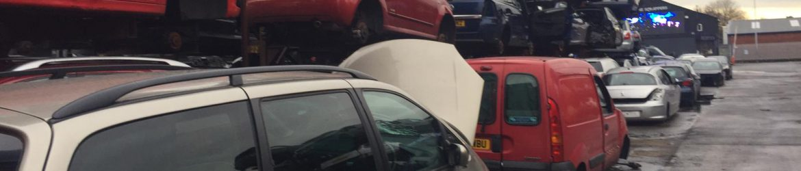 car scrap yard Bolton
