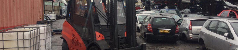 BMW scrap car