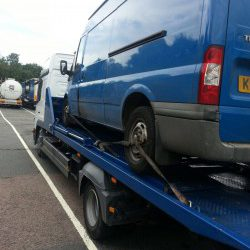 A Ford Transit for scrapping